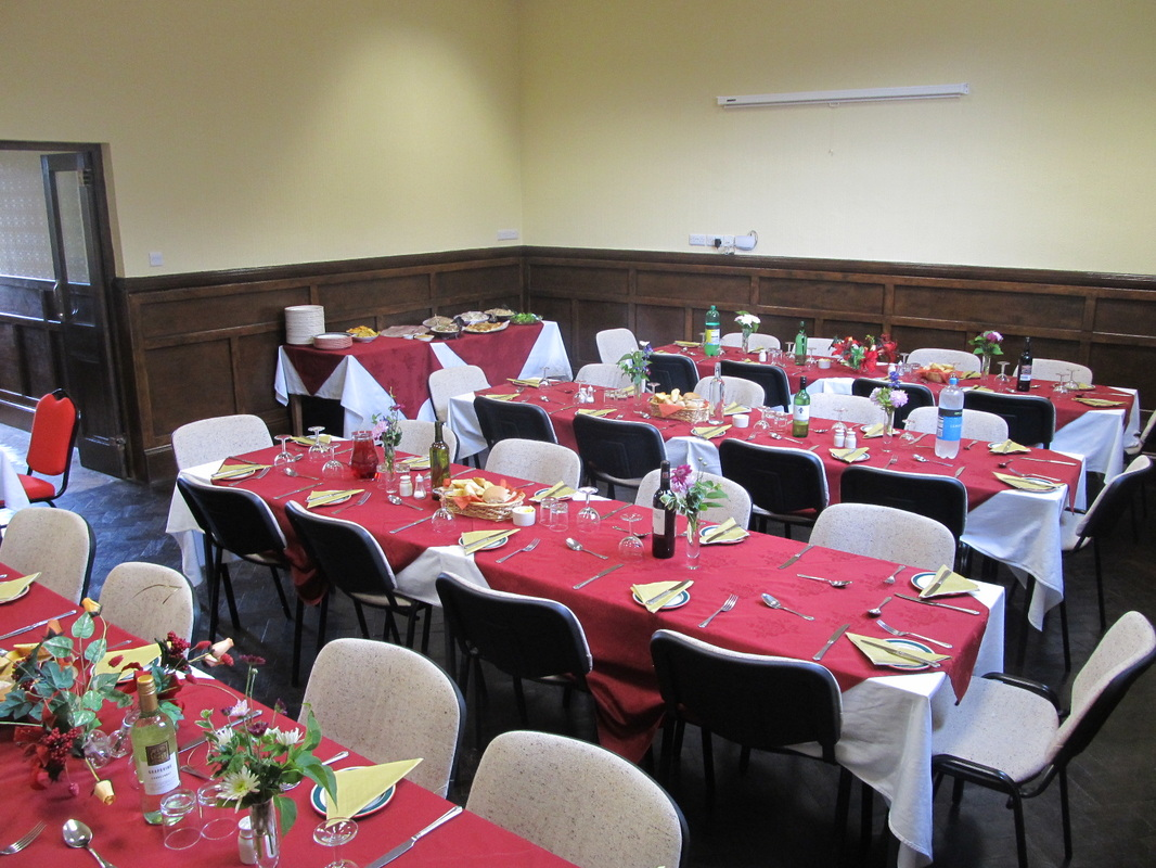 Room set up for group booking