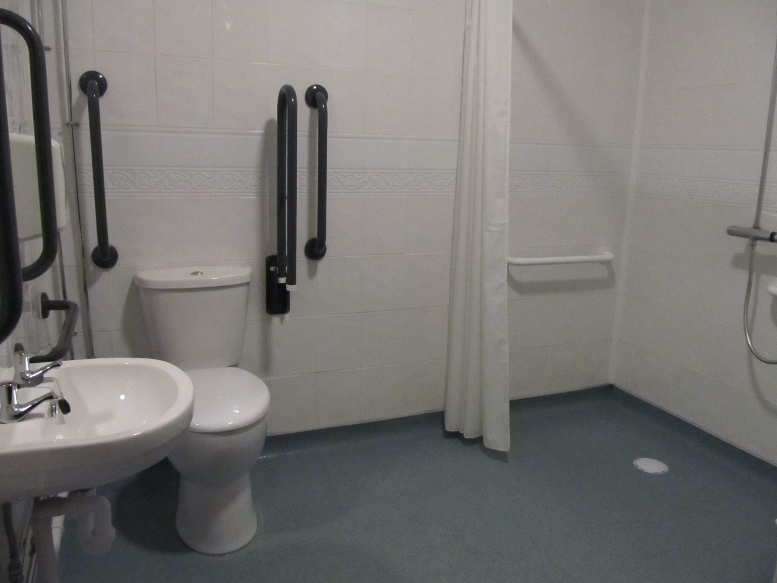 Accessibility and wet room facilities