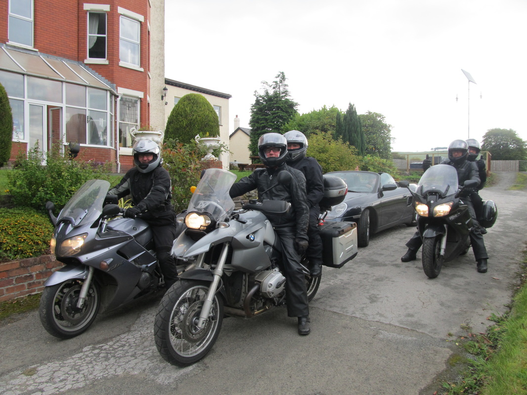 Motorcyclist guests
