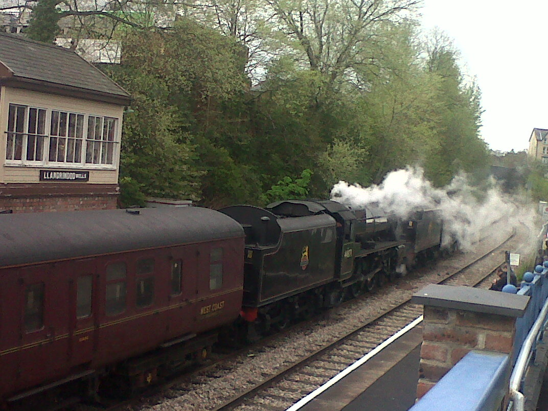 Steam train journeys